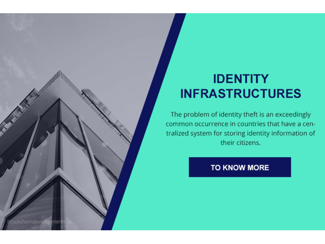 Blockchain Applications for Identify infrastructures| Blockchain Developments