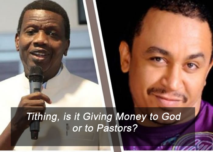 Tithing, is it Giving Money to God or to Pastors?