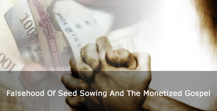 The Falsehood Of Seed Sowing And The Monetized Gospel - Daddy Freeze