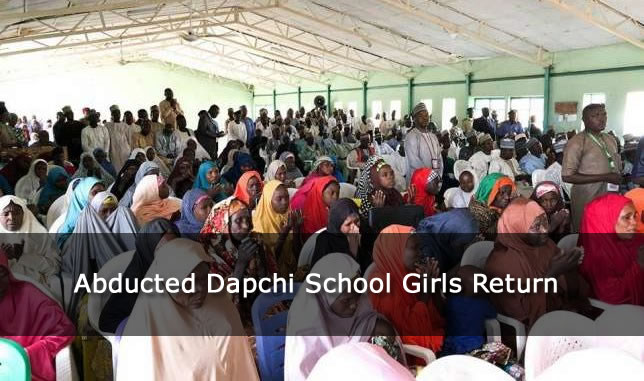 Abducted Dapchi School Girls Return - Number not confirmed