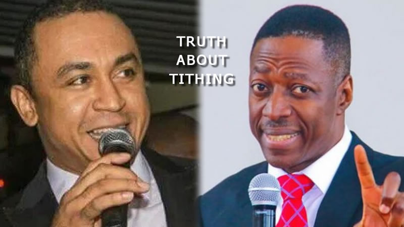Sam Adeyemi Confirms the truth about TITHING as it is taught by Daddy Freeze