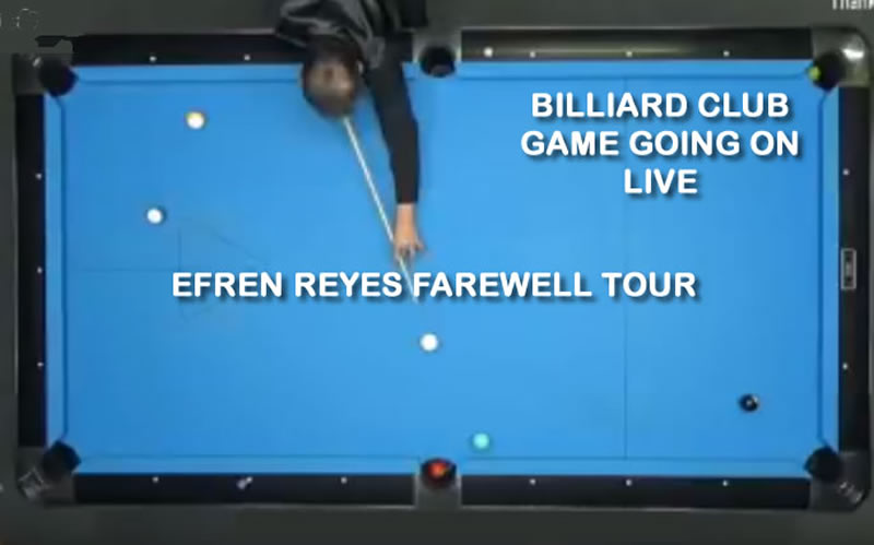 Live Billiard Game - Best Shots Ever With Skill Legend | EFREN BATA REYES