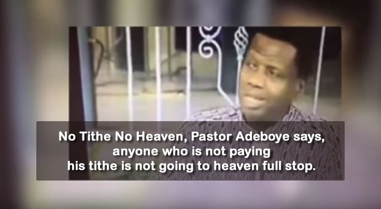 Pastor Adeboye Preaches No Tithe No Heaven - Dr. Damages Show episode 325