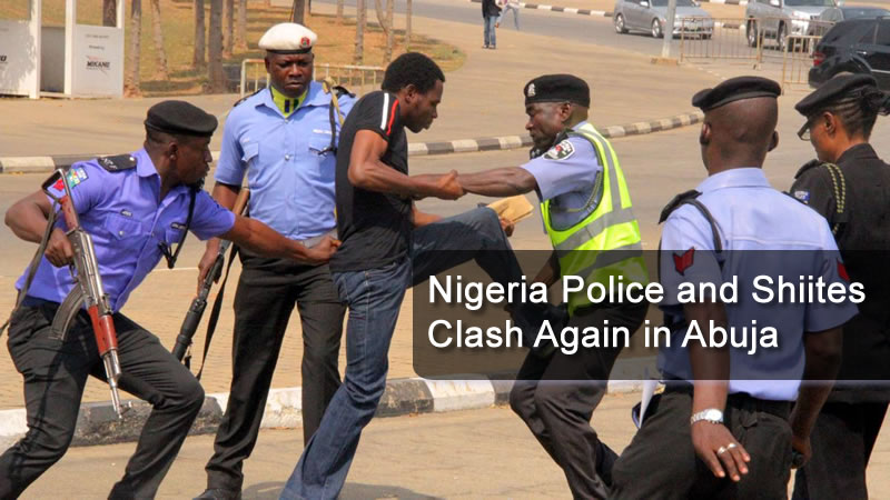 Nigeria Police and Shiites Clash Again in Abuja