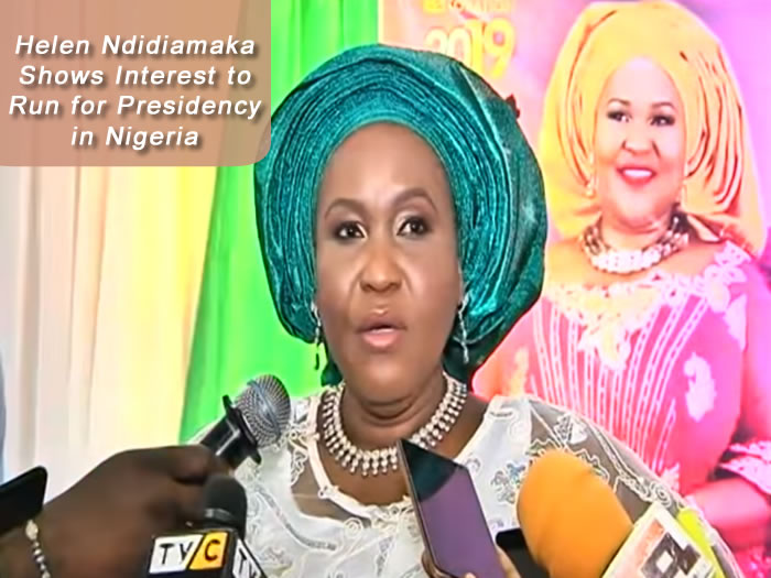 Helen Ndidiamaka Shows Interest to Run for Presidency in Nigeria