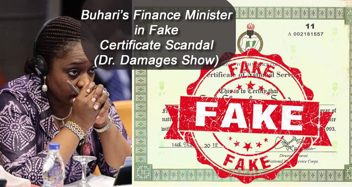 Finance Minister, Kemi Adeosun in Fake Certificate Scandal - Dr. Damages Show