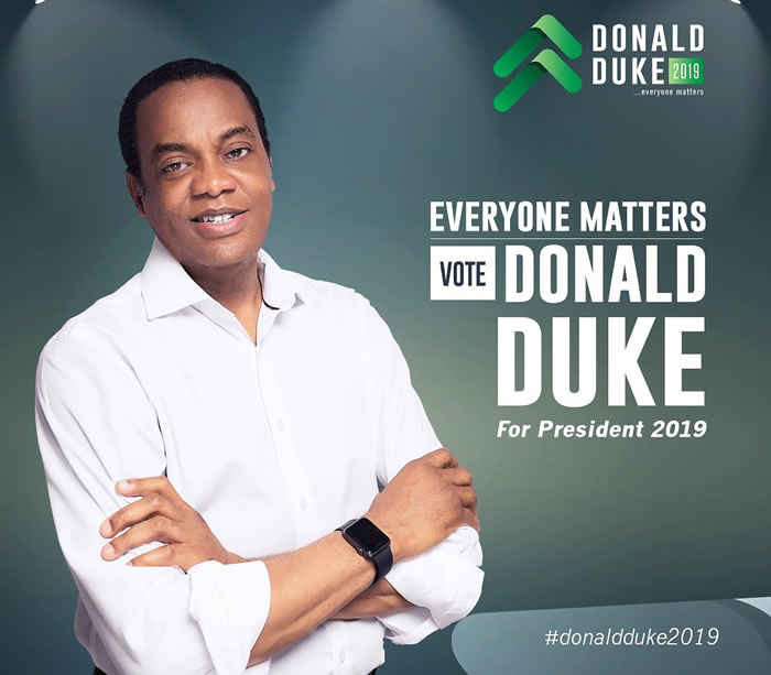 Donald Duke's Ambition to Run in 2019 Presidential Election