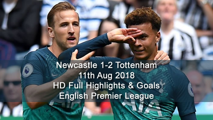 Newcastle 1-2 Tottenham | 11th Aug 2018 | HD Full Highlights and Goals - English Premier League