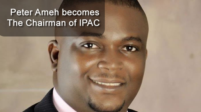 Peter Ameh becomes The Chairman of IPAC - Inter Party Advisory Council