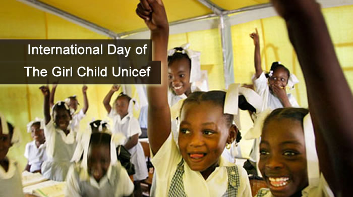 International Day of the Girl Child UNICEF