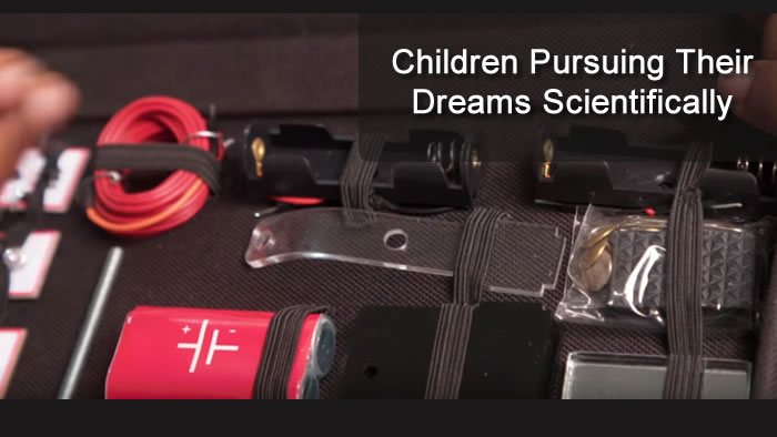 Children Pursuing Their Dreams Scientifically