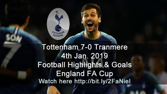 Tottenham 7-0 Tranmere | 4th Jan. 2019 - Football Highlights & Goals - England FA Cup