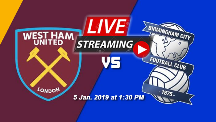 West Ham 2-0 Birmingham | 5th Jan. 2019 - Football Highlights & Goals - England FA Cup