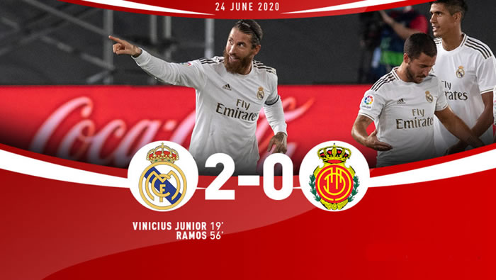 Real Madrid 2-0 Mallorca - 24th Jun 2020 - Football Highlights and Goals - Spain - La Liga