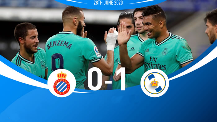 Espanyol 0-1 Real Madrid - 28th Jun 2020 - Football Highlights and Goals - La Liga