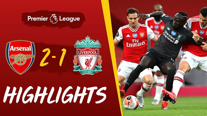Arsenal 2-1 Liverpool - 15th Jul 2020 - Football Highlights and Goals - England Premier League