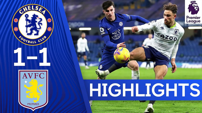 Chelsea 1-1 Aston Villa - 28th Dec 2020 - Football Highlights and Goals - English Premier League