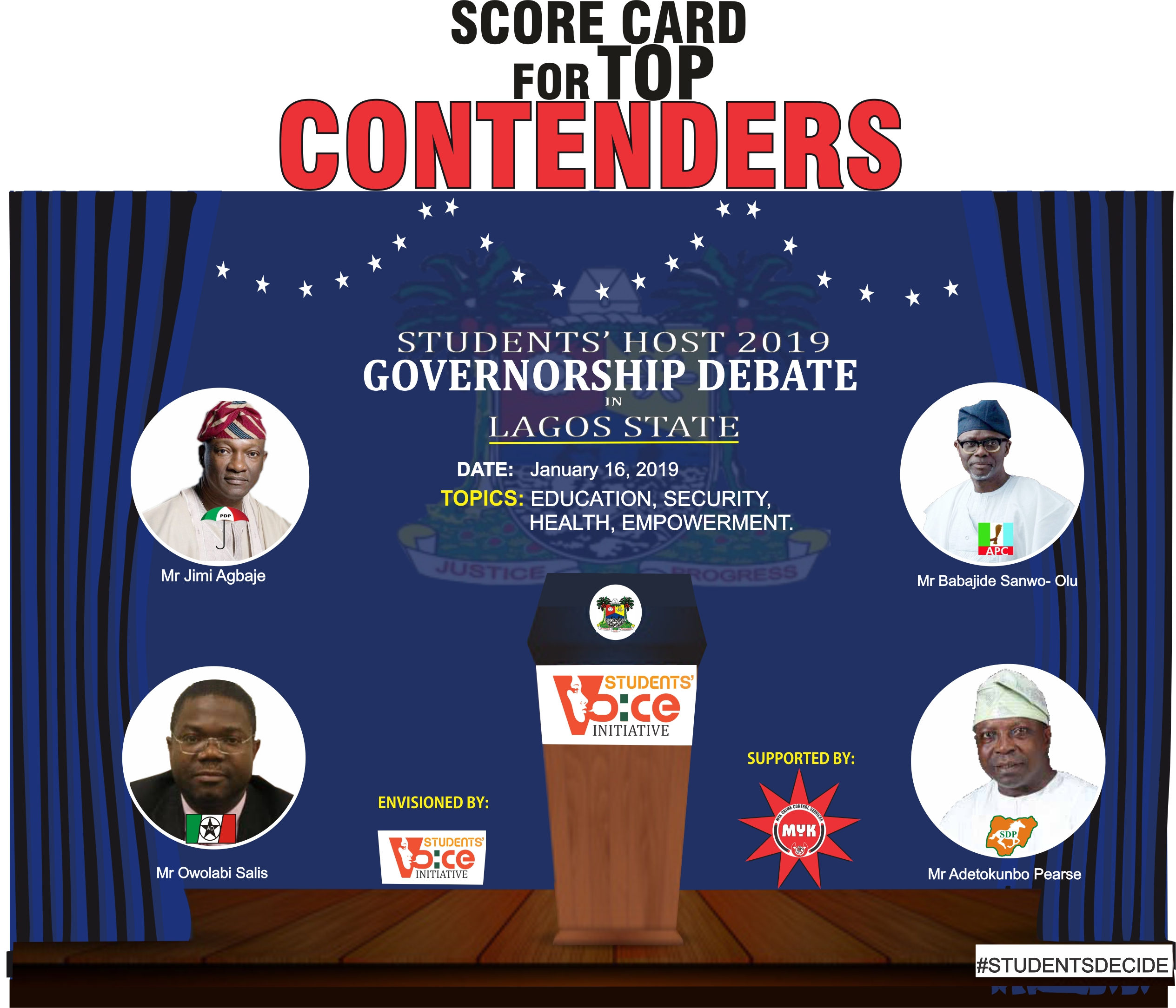 Students Host 2019 Presidential/Governorship Debate in Nigeria
