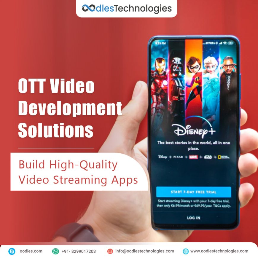 OTT App Development Company | OTT Video Delivery Solutions