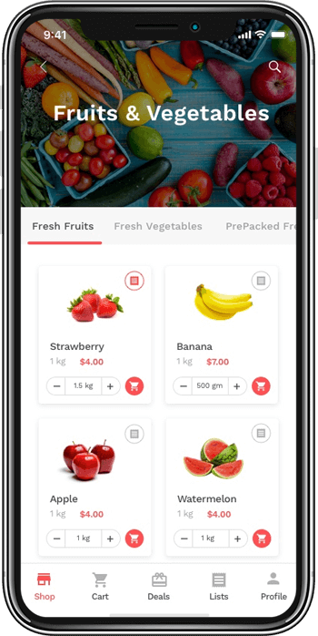 The scope of on-demand grocery services in the market